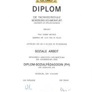Diplom-Sozialpädagogin (FH)